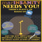 "LOCAL>> ""marINSANITY"" returns via Zoom!"