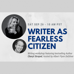 Writer As Fearless Citizen Workshop – Featuring ...