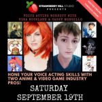 LOCAL>> Voice Acting Workout with Kira Buckland & Casey Mongillo
