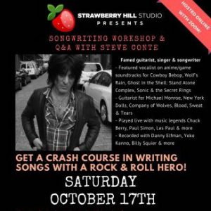 LOCAL>> Songwriting Workshop & Q&A with Steve Conte