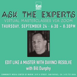 LOCAL>> Ask the Experts: Edit Like a Master with DaVinci Resolve