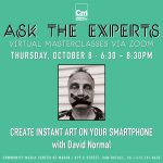 LOCAL>> Ask the Experts: Create Instant Art on Your Smartphone