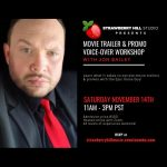 LOCAL>> Movie Trailer & Promo Voice-over Workshop with Jon Bailey