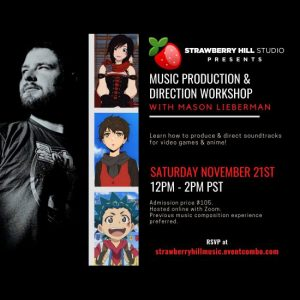 LOCAL>> Music Production & Direction Workshop with Mason Lieberman