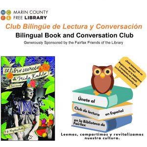 LOCAL>> Bilingual Book Club – El Libro Secreto de Frida Kahlo