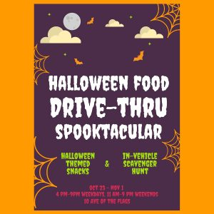 Halloween Fair Food Drive-Thru Spooktacular