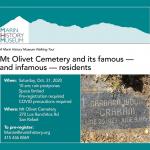 Mt. Olivet Cemetery – Halloween Walking Tour