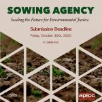 Call for Entry –  Sowing Agency: Seeding the Fut...