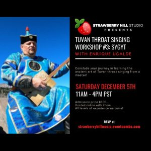 LOCAL>> Tuvan Throat Singing Workshop #3: Sy...