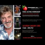 LOCAL>> Voice Acting Workshop with Richard Epcar
