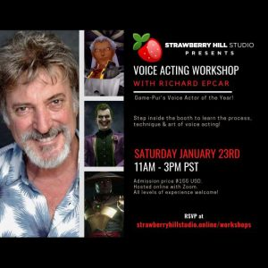 LOCAL>> Voice Acting Workshop with Richard E...