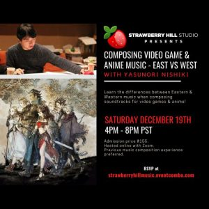 LOCAL>> Composing Video Game & Anime Mus...