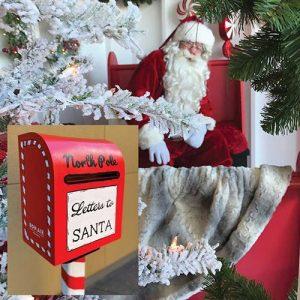 Socially Distanced Santa Visits / Letters to Santa...