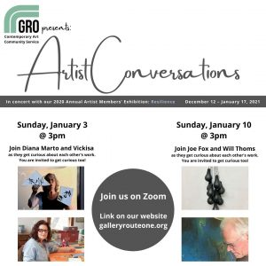 LOCAL>> Artists Conversations – in Concert with Resilience: Members exhibition