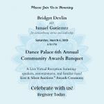 LOCAL>> Community Awards Banquet / Banquete de Reconocimiento de la Comunidad