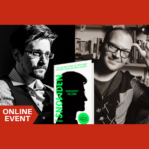 LOCAL>> Edward Snowden in conversation with Cory Doctorow