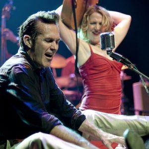 Steve Lucky & the Rhumba Bums featuring Miss Carmen Getit