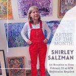 LOCAL>> Shirley Salzman – Virtual Art Reception