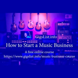 How to Start a Music Business - Free Resource