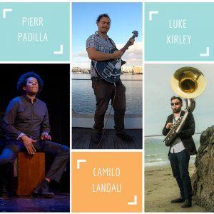 Pierr Padilla, Camilo Landau, Luke Kirley – Pana...