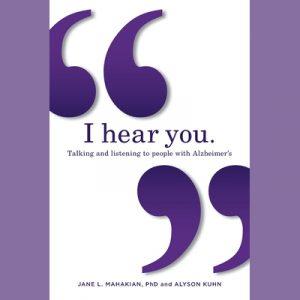 LOCAL>> Dr. Jane Mahakian and Alyson Kuhn – I Hear You