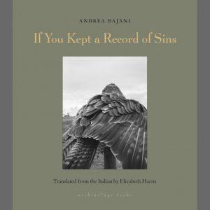 LOCAL>> Andrea Bajani and Jhumpa Lahiri – If You Kept a Record of Sins