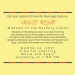 LOCAL>> Movie Night – Madams of the Barbary Coast