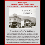 LOCAL>> Movie Night – Fairfax History