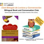 LOCAL>> Bilingual Book and Conversation Club / Club de lectura y conversación