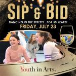 Sip & Bid: Dancing in the Streets…for 50 Years!