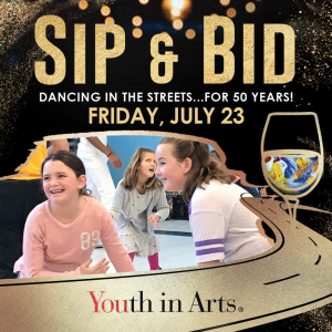 Sip & Bid: Dancing in the Streets…for 50 Yea...