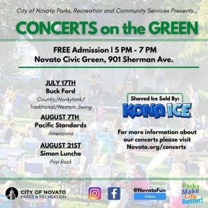 Concerts on the Green 2021
