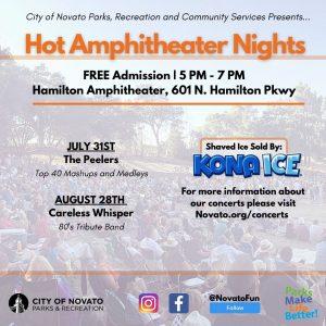 Hamilton Hot AmphitheaterNights 2021