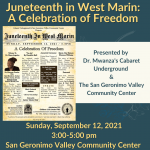 Juneteenth in West Marin: A Celebration of Freedom
