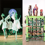 Genevieve Quick & Sahar Khoury – in the Project Space Studios