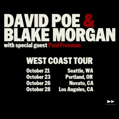 David Poe + Blake Morgan